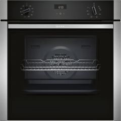 Neff B3ACE4HN0B Oven Single Slide + Hide S/Steel