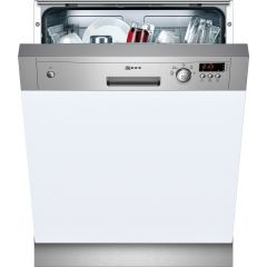 Neff S41E50N1GB Dishwasher Semi Integrated Stainless Steel