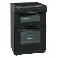 Statesman EDC60B Cooker 60Cm Double Ceramic Black
