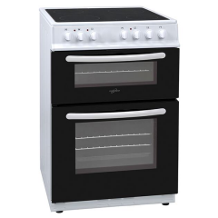 Statesman EDC60W Cooker 60Cm Double Ceramic