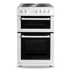 Statesman FUSION 50W Cooker Twin Cavity 50Cm White
