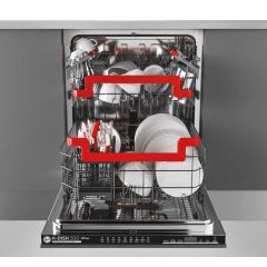 Hoover HDIN 4D620PB-80E Dishwasher Integrated
